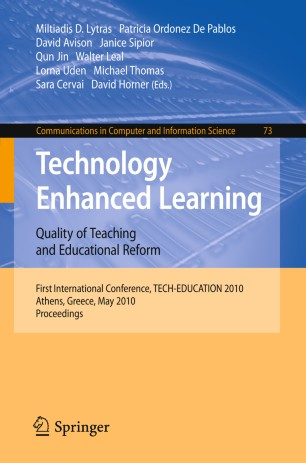 Technology Enhanced Learning. Quality of Teaching and Educational Reform