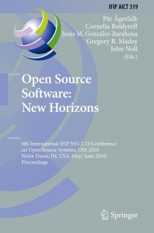 Open Source Software: New Horizons