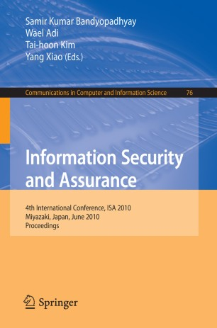 Information assurance and security book pdf