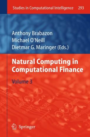 Natural Computing in Computational Finance