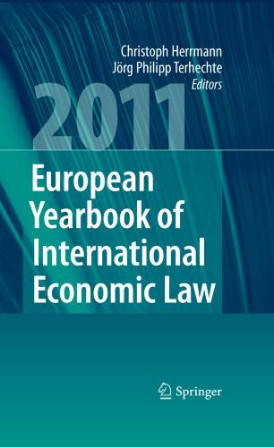 European Yearbook of International Economic Law 2011