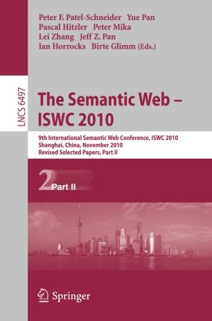 The Semantic Web – ISWC 2010