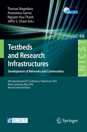 Testbeds and Research Infrastructures. Development of Networks and Communities