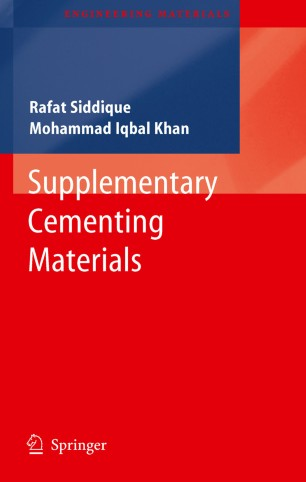 Supplementary Cementing Materials (Engineering Materials)