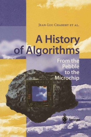 A History of Algorithms