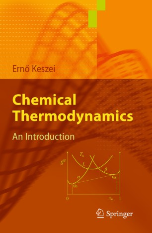 obálka Chemical Thermodynamics
