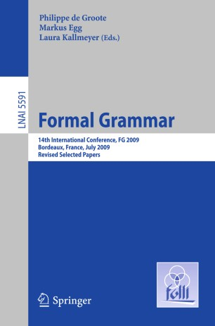 Formal Grammar