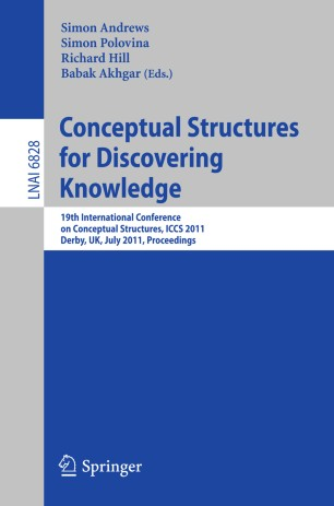 Conceptual Structures for Discovering Knowledge