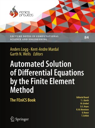 Automated Solution of Differential Equations by the Finite