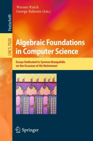 Algebraic Foundations in Computer Science