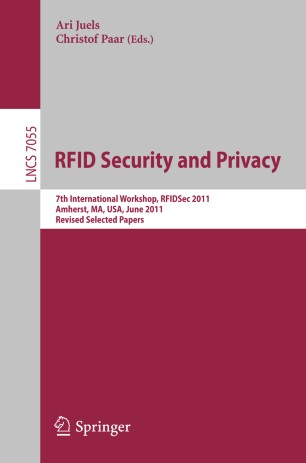 RFID  Security and Privacy | SpringerLink