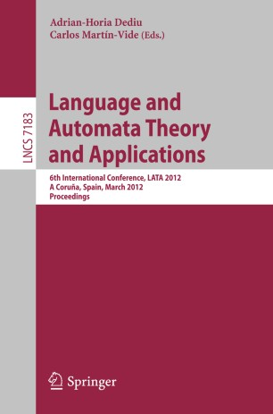Introduction To Automata Theory Ebook