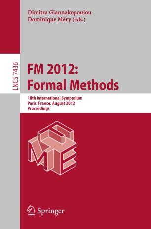 FM 2012: Formal Methods