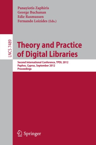 Theory and Practice of Digital Libraries