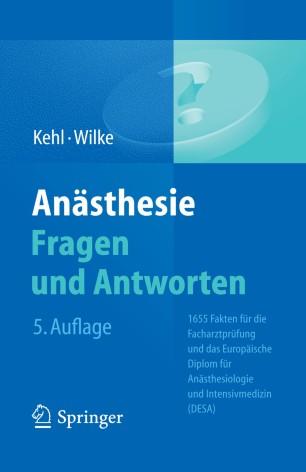 Anästhesie Fragen und Antworten