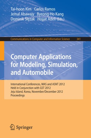 Computer Applications for Modeling, Simulation, and Automobile