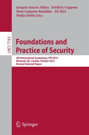 Computer Security Foundations Symposium