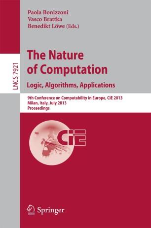The Nature of Computation. Logic, Algorithms, Applications