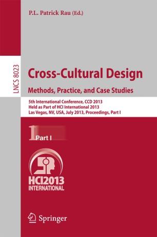 Remarkable Cross Cultural Design Methods Practice And Case Studies Download Free Architecture Designs Oxytwazosbritishbridgeorg