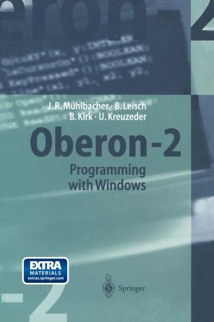 OBERON-2 PROGRAMMING WITH WINDOWS - Collectif