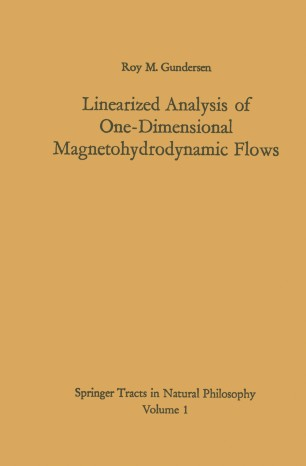 Linearized Analysis of One-Dimensional Magnetohydrodynamic Flows