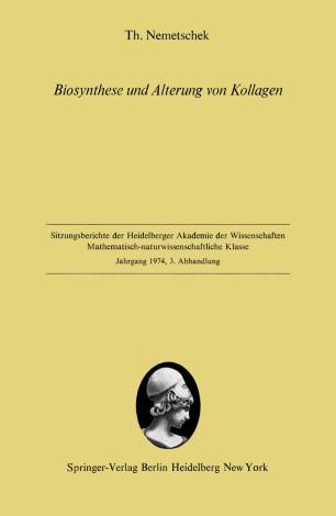 Biosynthese und Alterung von Kollagen