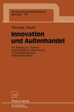 Innovation und Außenhandel