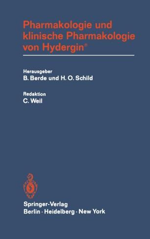 Pharmakologie und klinische Pharmakologie von Hydergin®