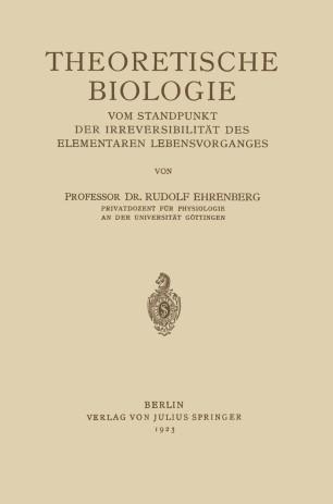 Theoretische Biologie