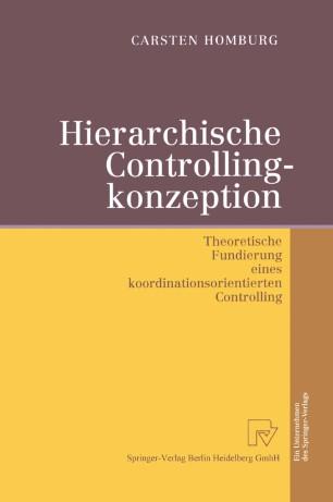 Hierarchische Controllingkonzeption