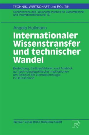 Internationaler Wissenstransfer und Technischer Wandel
