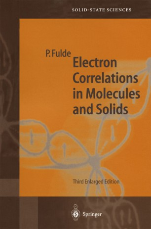Electron Correlations in Molecules and Solids | SpringerLink