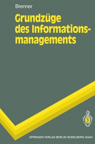 Grundzüge des Informationsmanagements