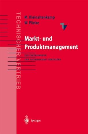 Markt- und Produktmanagement