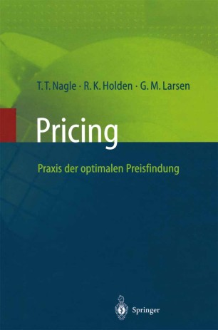 Pricing — Praxis der optimalen Preisfindung