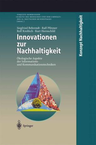 Innovationen zur Nachhaltigkeit