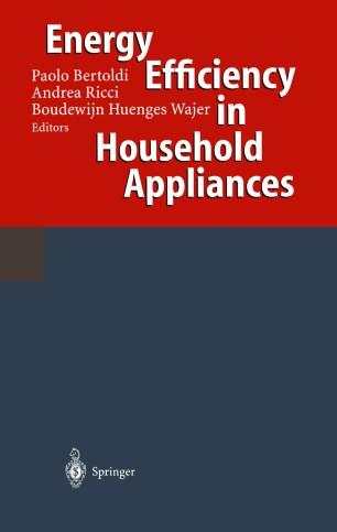 Energy Efficiency in Household Appliances | SpringerLink