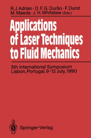 Applications of Laser Techniques to Fluid Mechanics | SpringerLink