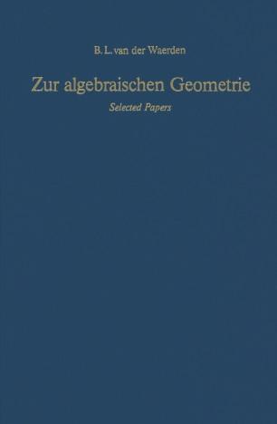 Zur algebraischen Geometrie