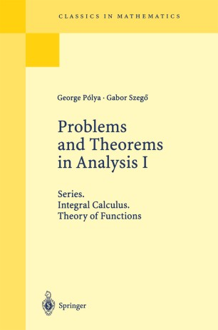 Problems and Theorems in Analysis I | SpringerLink