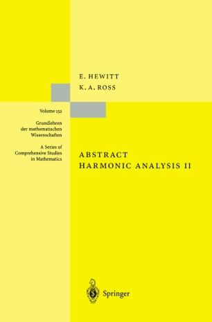 Abstract Harmonic Analysis