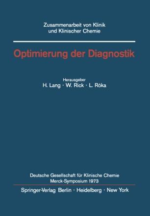 Optimierung der Diagnostik