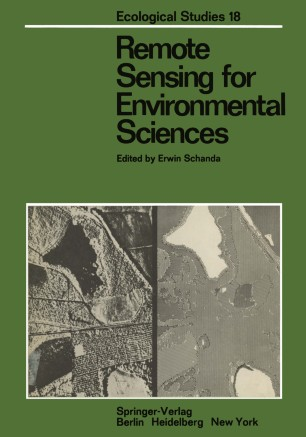Remote Sensing for Environmental Sciences