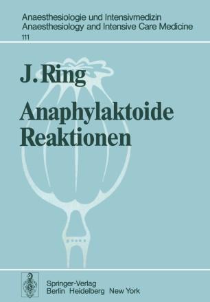 Anaphylaktoide Reaktionen