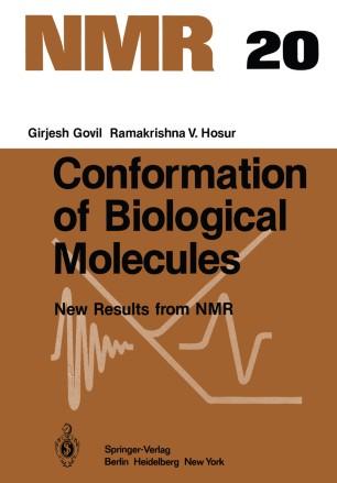 Conformation of Biological Molecules