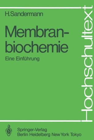 Membranbiochemie