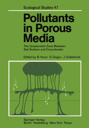 Pollutants in Porous Media