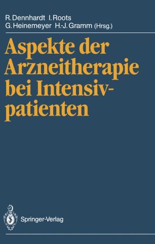 Aspekte der Arzneitherapie bei Intensivpatienten