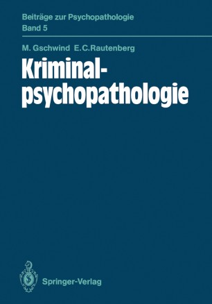 Kriminalpsychopathologie