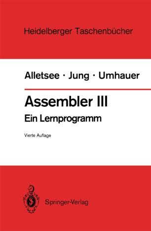 Assembler III